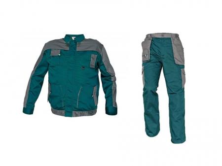 Costum Max Evolution Verde, jacheta + pantaloni [0]