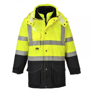 Jachetă HI-VIS Contrast Trafic 7-in-1 [0]