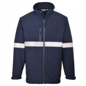 Jachetă Softshell Iona Bleumarin [0]