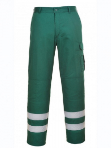 Pantaloni Iona Safety Combat Verde [0]