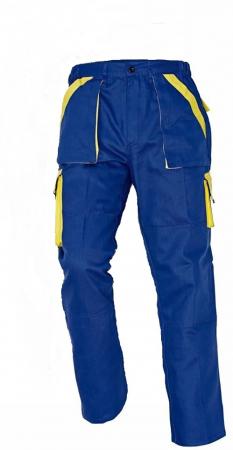 Pantaloni Max Albastru/Galben, 100% bumbac [0]