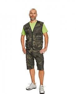 Pantaloni scurţi Camouflage Crambe [0]