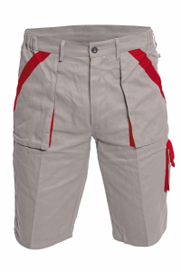 Pantaloni scurţi MAX Gri/Roşu [0]