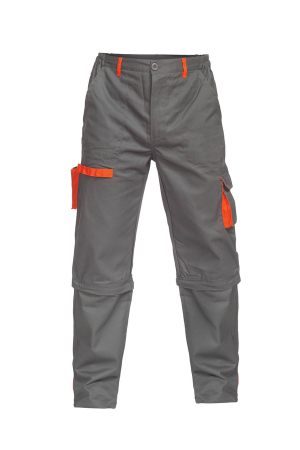 Pantaloni Sigma 2-in-1, Gri/portocaliu [0]
