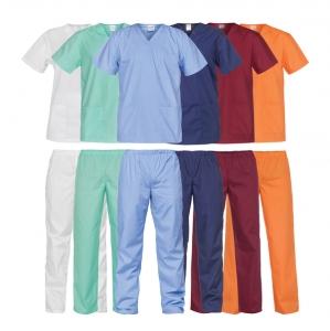 Set tunică şi pantaloni, diverse culori - Lichidare de stoc0