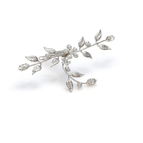Accesoriu par mireasa cristale Swarovski 8010 CE Crystal 0