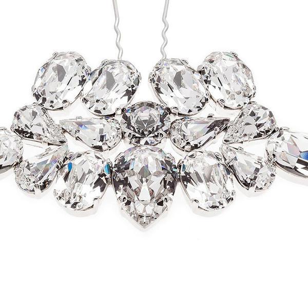 Accesoriu par mireasa cristale Swarovski 8162 Crystal 1