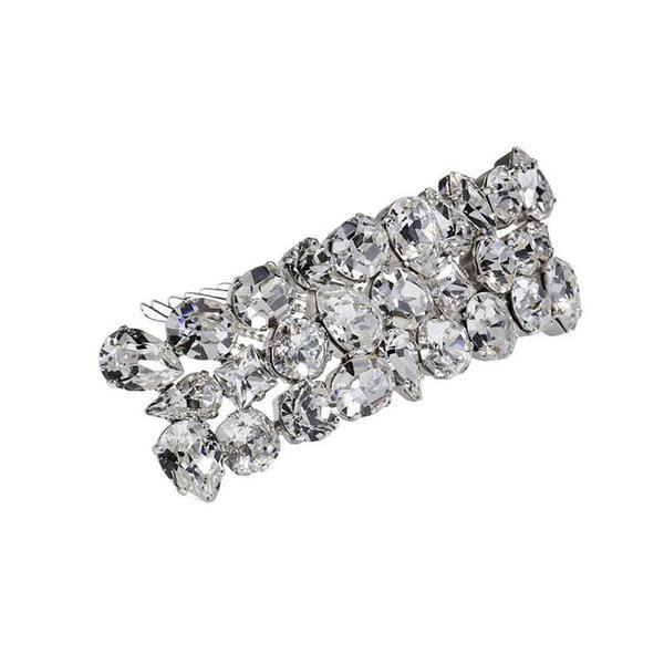 Accesoriu par mireasa cristale Swarovski 8167 Crystal 0