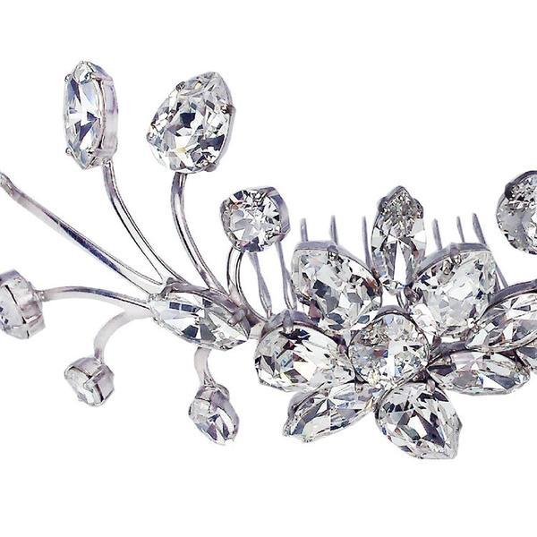 Accesoriu par mireasa cristale Swarovski 8171 Crystal 5