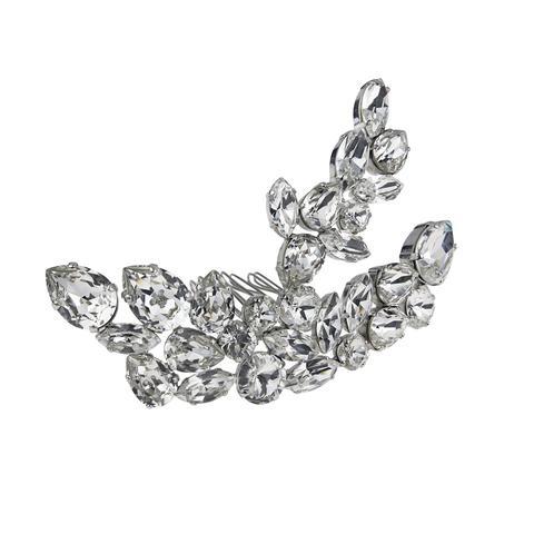 Accesoriu par mireasa cristale Swarovski 8181 Crystal 0