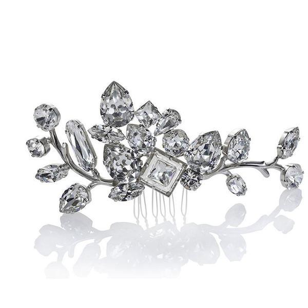 Accesoriu par mireasa cristale Swarovski 8191 Crystal [1]