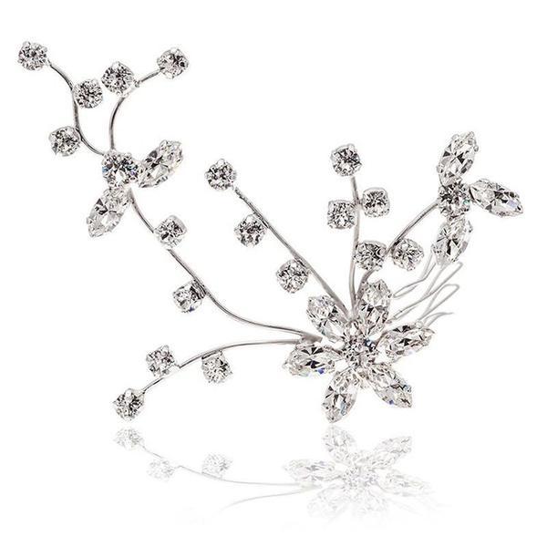 Accesoriu par mireasa cristale Swarovski Cherry Branch Crystal 0