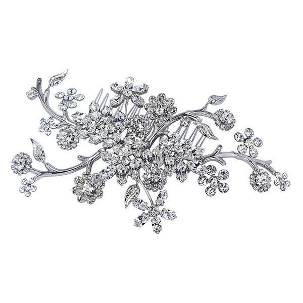 Accesoriu par mireasa cristale Swarovski Endless Night Crystal [1]