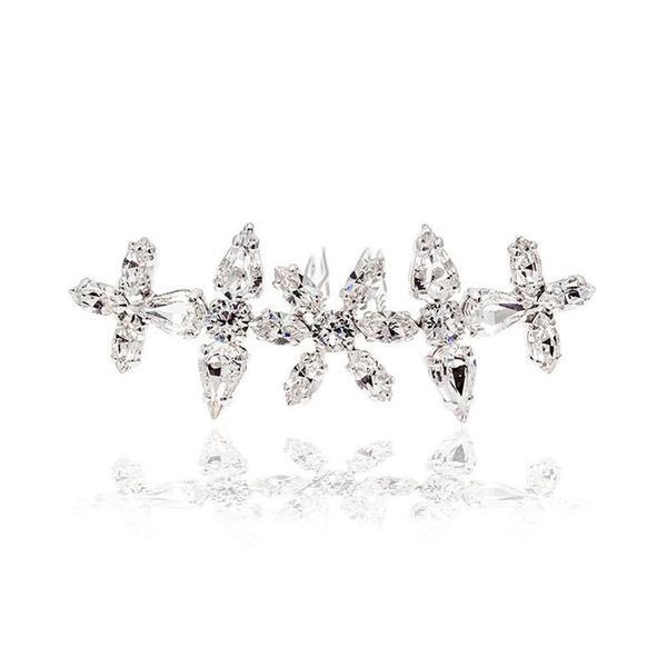 Accesoriu par mireasa cristale Swarovski Floralis Crystal 0