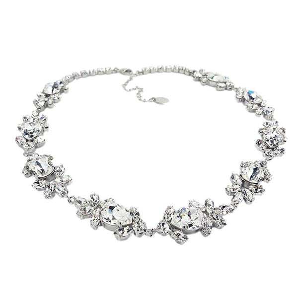 Accesoriu par mireasa cristale Swarovski Ivy Crystal 3