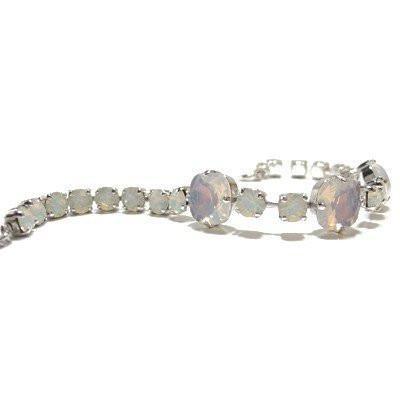 Bratara cristale Swarovski 2075 White Opal 0