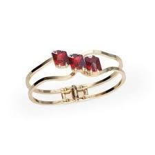 Bratara cristale Swarovski Gloria Red Magma 0