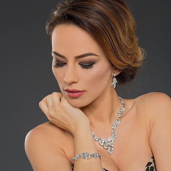 Bratara cristale Swarovski Josephine 2 Crystal 2