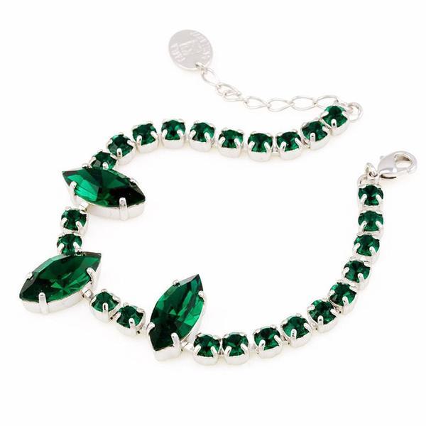 Bratara cristale Swarovski Kyra Emerald 0