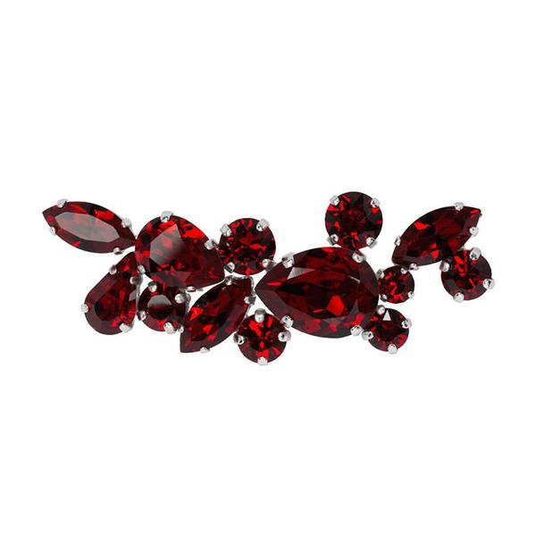 Brosa cristale Swarovski 5023 Siam 0
