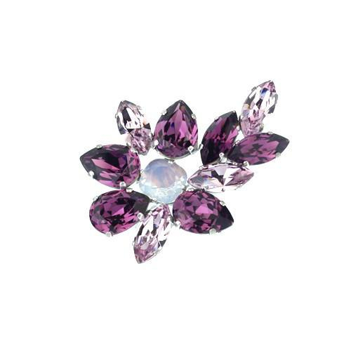 Brosa cristale Swarovski 5049 Amethyst 0