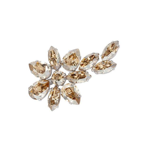 Brosa cristale Swarovski 5049 Golden Shadow 0