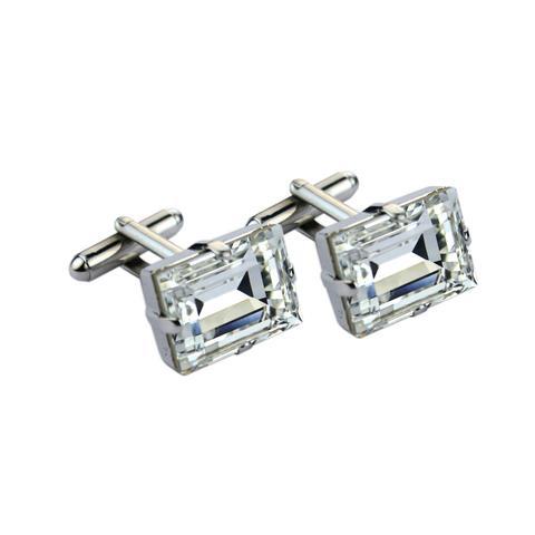 Butoni cristale Swarovski 4527 Crystal 0