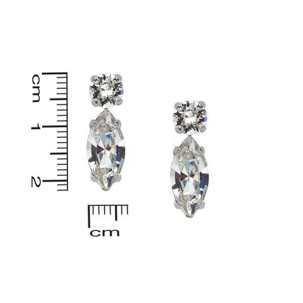 Cercei cristale Swarovski 3038 Crystal 3