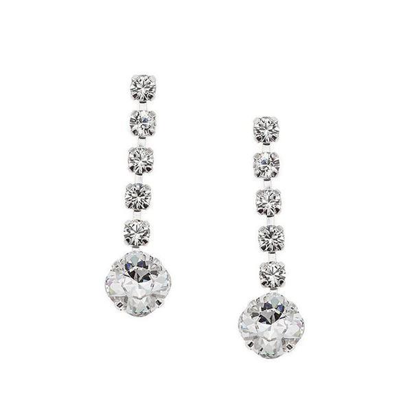Cercei cristale Swarovski 3075L Crystal 0