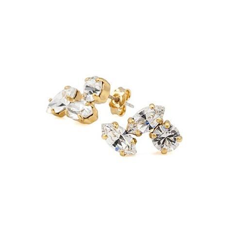 Cercei cristale Swarovski 3116 Crystal G 0