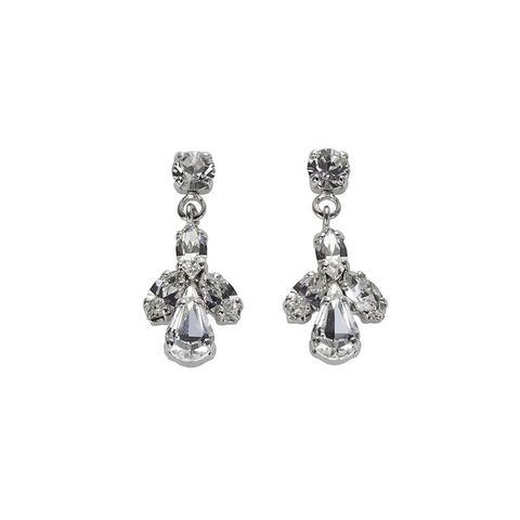 Cercei cristale Swarovski 3173 Crystal 0