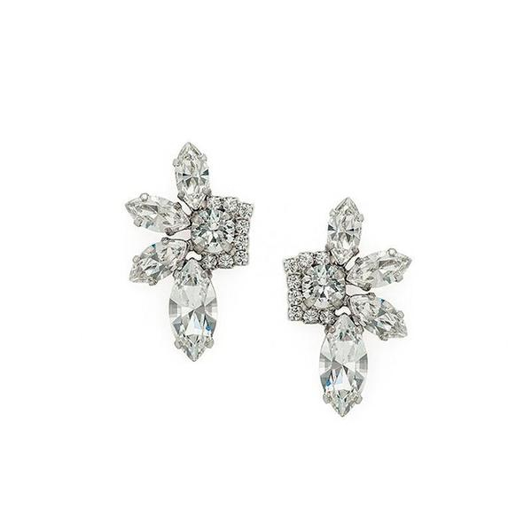 Cercei cristale Swarovski 3549 Crystal 0