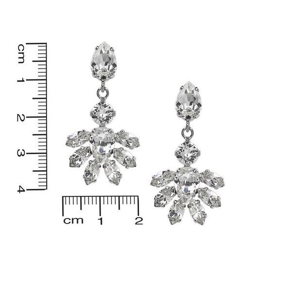 Cercei cristale Swarovski Abby Crystal 2
