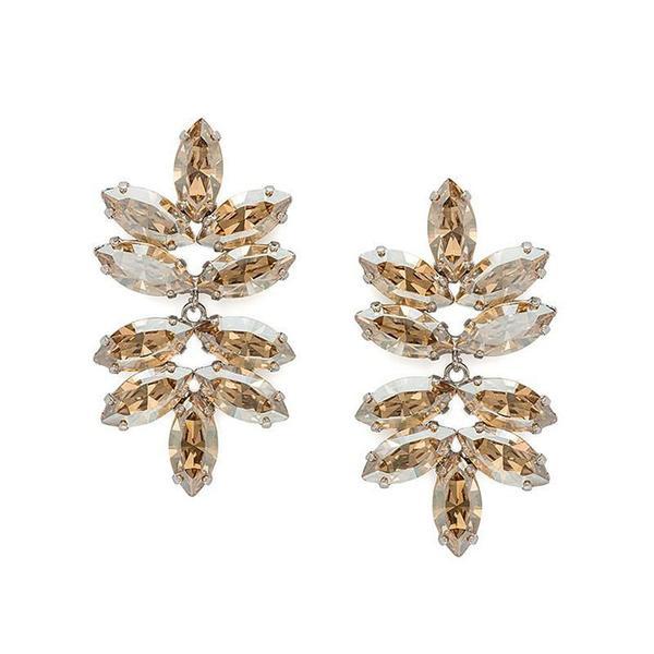 Cercei cristale Swarovski Beatrice Gold 0