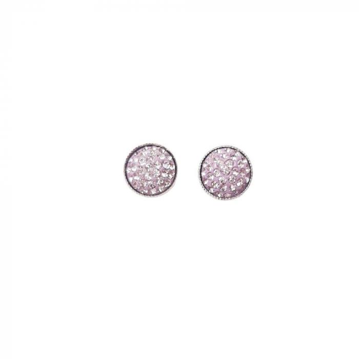 Cercei cristale Swarovski Ceralun Lavanda [0]
