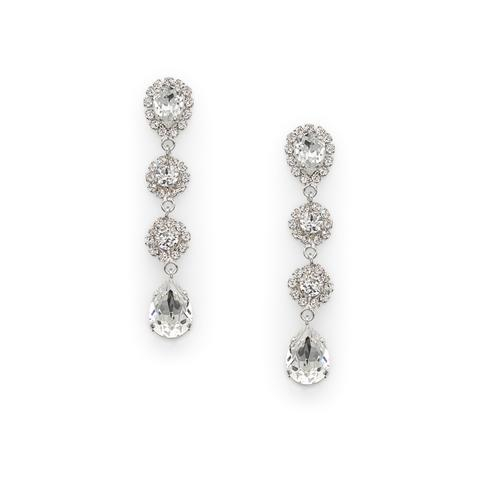 Cercei cristale Swarovski Chantal Crystal 0
