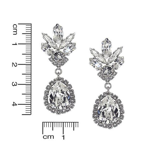 Cercei cristale Swarovski Eliana Crystal 2