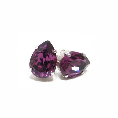 Cercei cristale Swarovski Ilaria Amethyst [0]