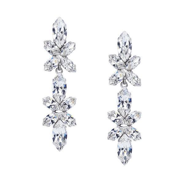 Cercei cristale Swarovski Lorelei Crystal 0