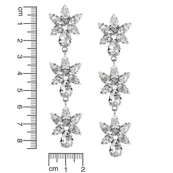 Cercei cristale Swarovski Nathalie Crystal 2