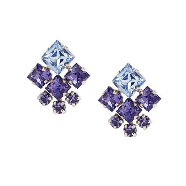 Cercei cristale Swarovski Norma Violet 0
