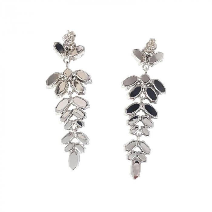Cercei cristale Swarovski Pine Crystal 1