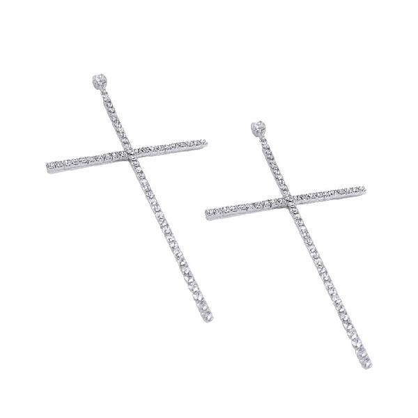 Cercei cristale Swarovski Simona 3 Crystal 1
