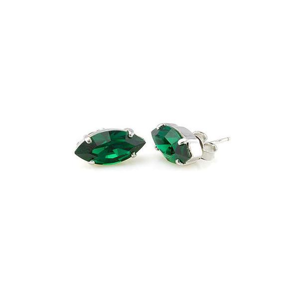 Cercei cristale Swarovski Simone Emerald 0