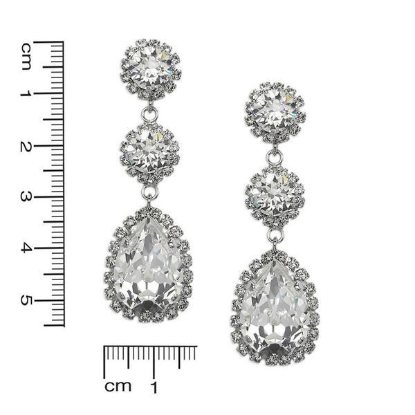 Cercei cristale Swarovski Tear Crystal [2]