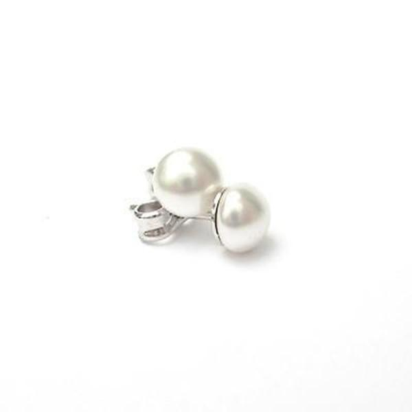 Cercei perle Swarovski 3204 White Pearl [0]