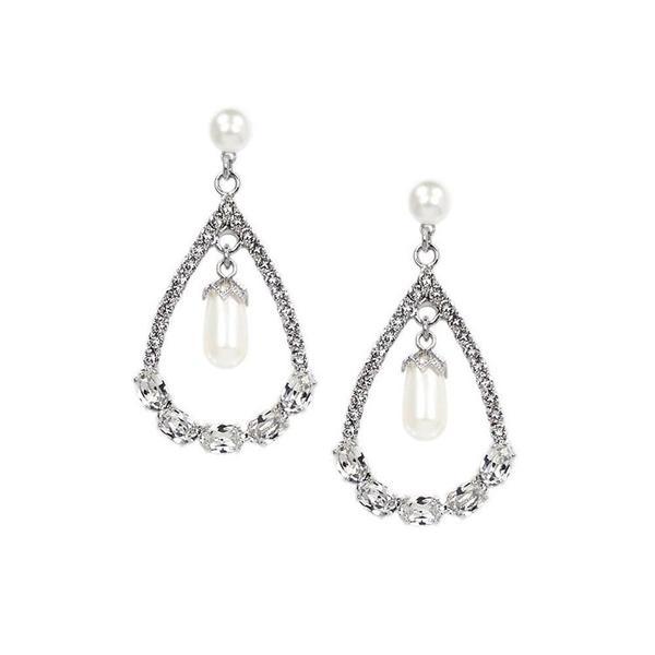 Cercei perle Swarovski Infinity Pearl [3]