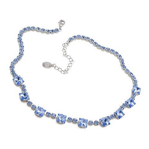 Colier cristale Swarovski 1018 Light Saphire 0