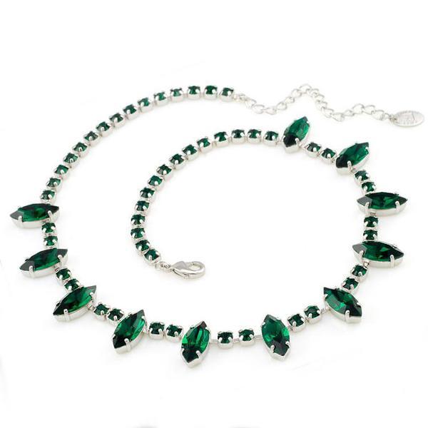 Colier cristale Swarovski 1009 Emerald 0