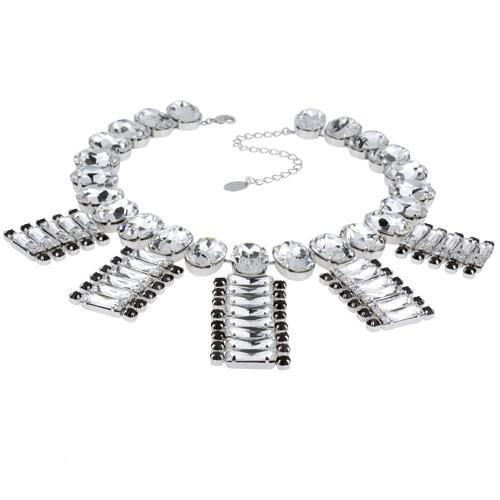 Colier cristale Swarovski 1170 Crystal & Jet 0